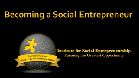 Becoming a Social Entrepreneur - Course Image