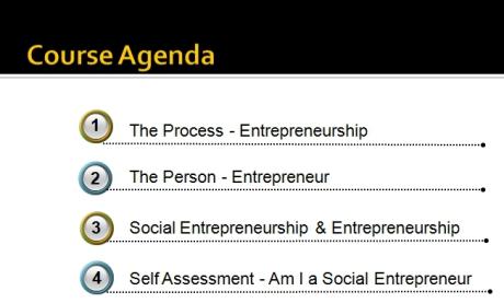 Unit#1 Course Agenda