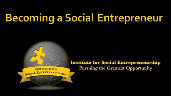 Becoming a Social Entrepreneur - Course Image